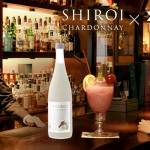 The original cocktail 'pur femne' that is made at a bar in Hiroshima city with the SHIROI series liqueur, chardonnay,